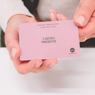 o Cartão Presente - Gift Card